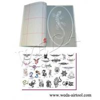 Buy cheap Airbrush Tattoo Stencil and Ink 5 product