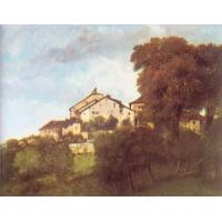 Buy cheap Impressionist(3830) The Houses of the Chateau D-Ornans product