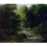 Buy cheap Impressionist(3830) River Landscape product