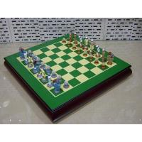 Buy cheap Chess *Hand Painted Polyresin Chessmen product