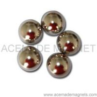 Buy cheap Sintered NdFeB Magnet Sphere Ball product