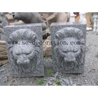 Buddha Product Nameg603 grey granite lion head animal sculpture for sale