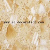 Buy cheap Engineered Stone Product Nameyellow onyx engineered stone product