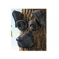 Buy cheap Polyresin Animal Figurines Polyresin Black Lab Tree Face product
