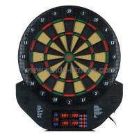 Dartboard Item No.XD-358ACLASSIFICATIONDartboardDESCRIPTIONELECTRONIC DARTBOARDPRODUCT SIZE:54.8*47.3*3CMSPE:1-16PLAYERS.5LED DISPLAY. 27 STYLES. 198EXCITING . 198EXCITING GAMES12 BRASS SOFT TIP DARTS24REPLA