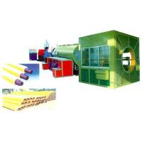 Large caliber heat-preservation pipe extrusion line