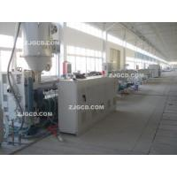 HDPE water supplying/gas pipe production line