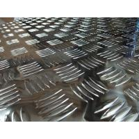 Buy cheap 5 bars aluminum tread plate from Wholesalers