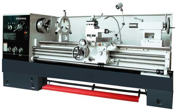 Quality Manual Gear head Engine Turn Lathe C6250A Turning Lathe for sale
