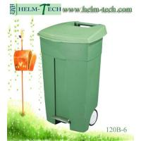 Buy cheap Wheeled Industrial Trash Can with Pedal product