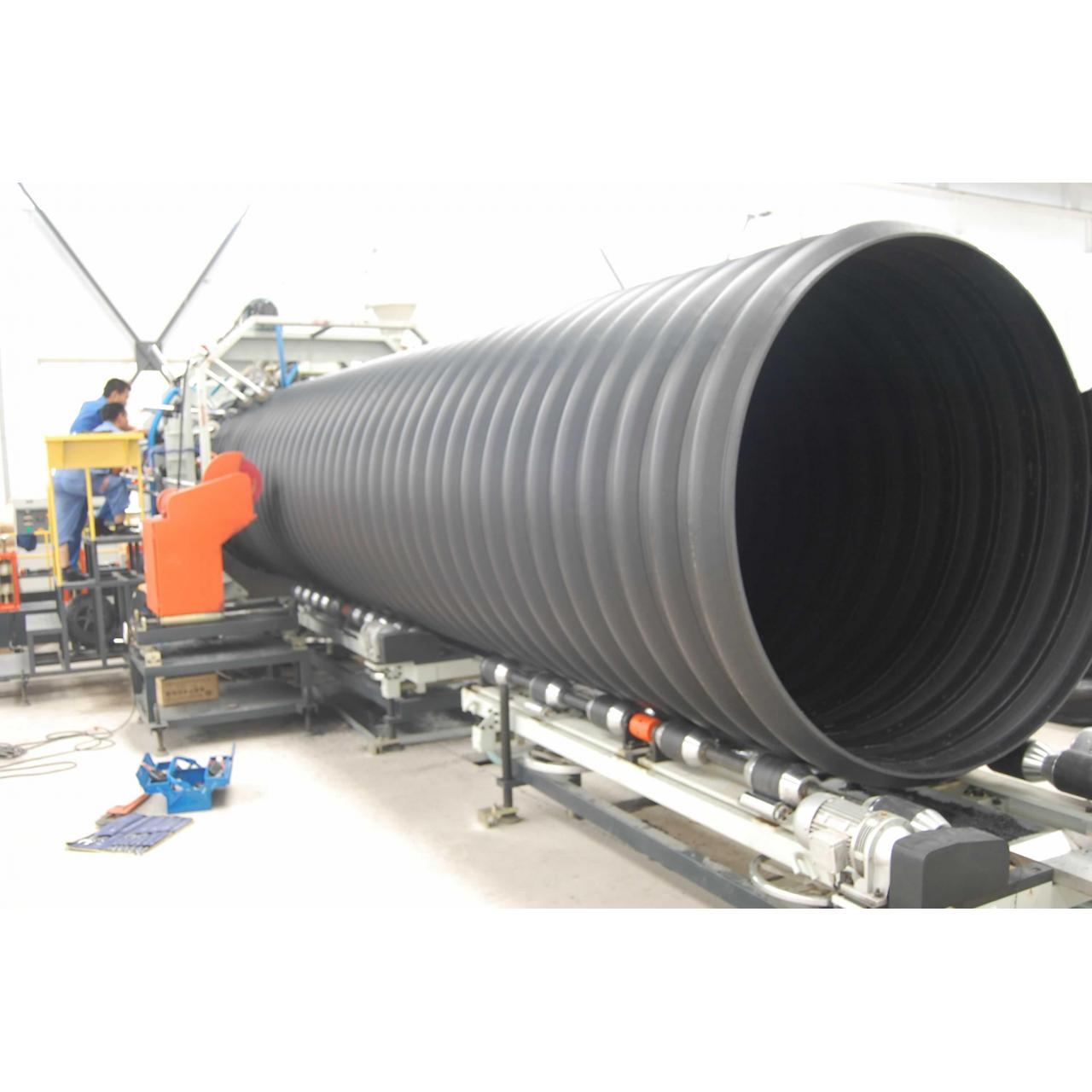 Buy cheap Metal Reinforced PE Spirally Corrugated Pipe product