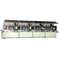Automatic 4-colour cylinder UV Silk Screen Printer
