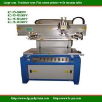Buy cheap Precision Vacuum table Flat screen printer product