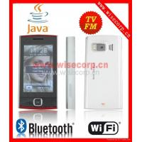 Buy cheap X6 Wifi Java TV dual sim quad band mobile phone Bluetooth Dual camera product