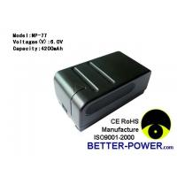 Buy cheap Camera/camcorder batteries Model: NP-77 product