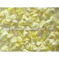 Buy cheap Freeze Dried Fruit Freeze Dried Pineapple Dices product