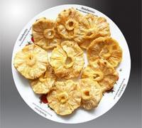Dried fruits Dried pineapple