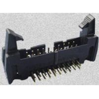Buy cheap 35 SERIES-8.25mm 2.54mm Box Header With Latches DIP Type(Right angle) product