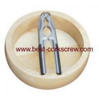Buy cheap Pecan Nut Cracker with Wooden Bowl product