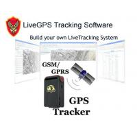 Buy cheap LiveGPS Tracking Software-Real-time, live, web tracking system product