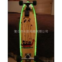 Buy cheap apply skateboard decoration EL wire product