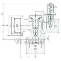 Buy cheap A46C Type Pilot-Operated Pressure Relief Valve product