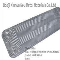 Buy cheap titanium sheet for heat exchanger product