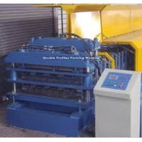 Double profiles forming machine