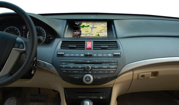 Honda Accord 2008 Navigation And Entertainment System