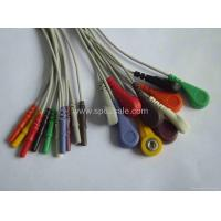 Buy cheap Holter 10-lead DIN1.5 leadwire from Wholesalers
