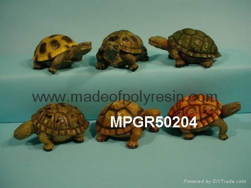 Quality polyresin garden decoration turtle statue for sale