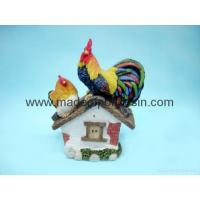 Buy cheap polyresin rooster crafts/garden rooster decor/rooster statue product