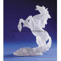 Buy cheap Frosted horse crafts polyresin frosted gifts frost arts product