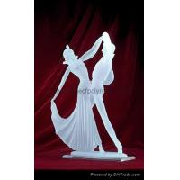 Frosted Dancer Crafts clear polyresin dancer