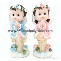 Buy cheap polyresin boy &resin girl statue product