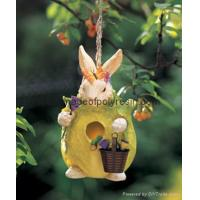 Buy cheap polyresin birdhouse,resin garden birdhouse product