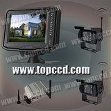 Buy cheap 2.4G wireless 5inches vehicle backup monitor system with 2.4G wireless CCD Camera*2pcs (www.topccd.com) from Wholesalers