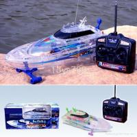 Buy cheap 1/25 Scale RC Transparent Racing Boat from wholesalers