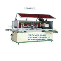 Buy cheap One colour Plastics bottle full automatically screen printer product