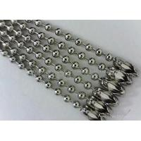 Buy cheap Stainless steel bead chain from Wholesalers