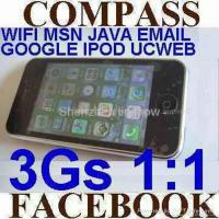 Buy cheap 1:1 apple 3Gs iPhone 3.5 inch 32GB WIFI MSN JAVA single sim MAP COMPASS FACEBOOK product