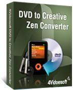 Buy cheap 4Videosoft DVD to Creative Zen Converter 3.2.10 product