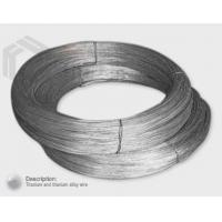 Buy cheap Titanium and titanium alloy wire from Wholesalers