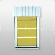 Buy cheap FFJ Series Norganic Compound Fireproof Rolling-up Curtain product