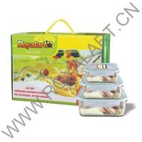 Buy cheap GLASS LOCK CONTAINER WITH AIRTIGHT LID PACK1 product