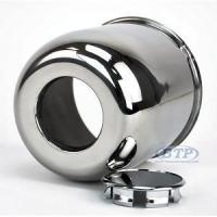 China Stainless Steel Center Cap for 15 inch Aluminum Wheels 6 Lug 4.25 on sale