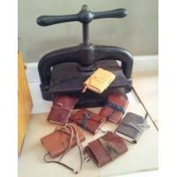 Buy cheap Leather Journal making with Joni Essex - North Yorkshire product