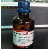 Buy cheap Lab reagent Absolute ethyl alcohol product