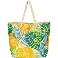 Tropical Leaves Rope Tote (Model 2376-1)