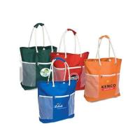 Rope Handle Polyester Beach Tote Bag